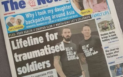 The News: Lifeline for traumatised soldiers