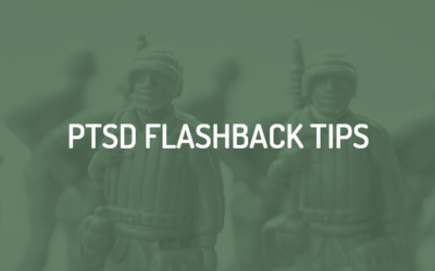 5 self care tips for dealing with PTSD flashbacks.