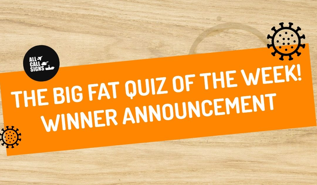 BIG FAT QUIZ OF THE WEEK: TWO | WINNERS ANNOUNCEMENT